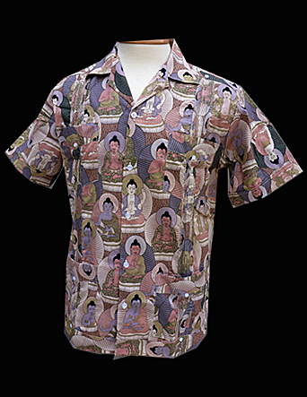 Budda in the Flesh-Short Sleeve-Size Large/40