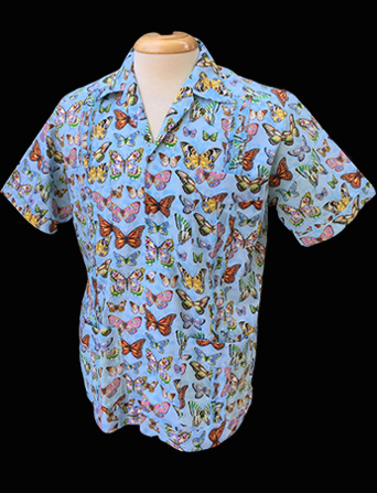 Butterfly Collector-Short Sleeve-Size Large/40