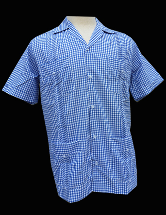 Gentleman Gingham-Short Sleeve-Size Large/40