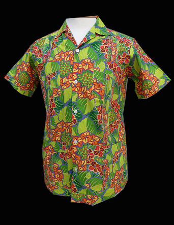 Green Red Hydrangia-Short Sleeve-Size Ex-Small/34
