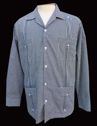 Houndstooth Terrific-Long Sleeve-Size X-Large/42