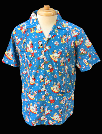 Jetson's Moon-Short Sleeve-Size Small/36