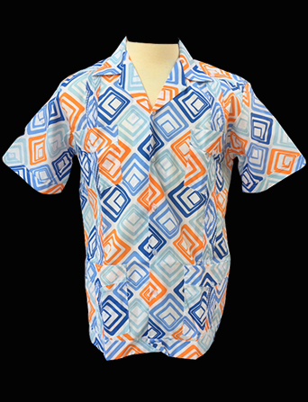 Mid-Century Modern-Short Sleeve-Size Medium/38