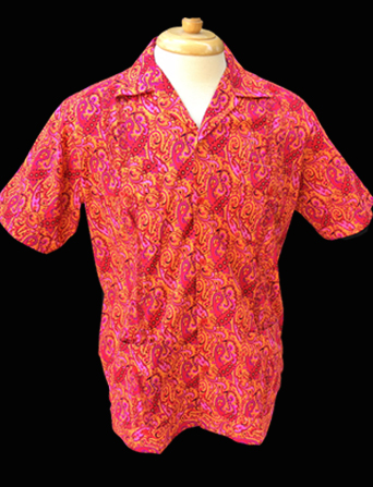 Raspberry Beret-Short Sleeve-Size Large/40