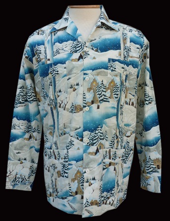 Snow Holiday-Long Sleeve-Size Large/40